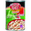 Western Family Premium Great Northern Beans, 15 oz