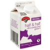 Hannaford Half & Half, 16.0 fl oz