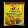 Old El Paso Taco Seasoning Mix 25% Less Sodium, 1 oz