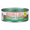 Bumble Bee Chunk Light Tuna in Water, 4 oz