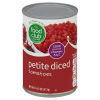 Food Club Petite Diced Tomatoes, 14.5 oz
