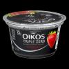 Dannon Oikos Triple Zero Nonfat Strawberry Yogurt, 5.3 oz