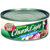Western Family Tuna Premium Chunk Light In Water, 4 oz
