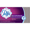 Puffs Ultra Soft & Strong White Facial Tissue, 2 ply sheets, 124 ct
