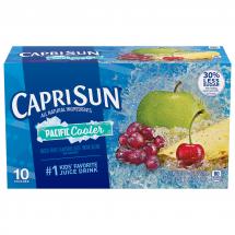 Caprisun Pacific Cooler Mixed Fruit Flavored Juice Drink Blend, 6 fl oz, 10 ct