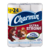 Charmin Ultra Strong Bathroom Tissue Double Rolls - 12 CT