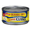 Snow's Bumble Bee Chopped Clams in Clam Juice