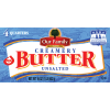 Our Family Unsalted Butter, 16 oz