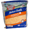 Western Family Medium Shredded Cheddar Cheese, 32 oz