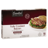 Essential Everyday Fully Cooked Microwaveable Bacon, 2.1 oz
