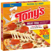Tonys Frozen Microwaveable Meat-Trio Pizza, 20.13 oz
