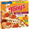Tonys Frozen Microwaveable Meat-Trio Pizza, 20.13 oz