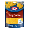 Kraft Natural Cheese Finely Shredded Sharp Cheese, 8 oz
