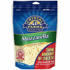 Crystal Farms All Natural Shredded Mozzarella Cheese, 8 oz