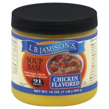 L.B. Jamison's Chicken Flavored Soup Base, 16 oz