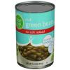 Food Club No Salt Added Green Beans, 14.5 oz