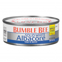 White Albacore | Day S Market Bumble Bee Solid White Albacore Tuna In Water 5 Oz