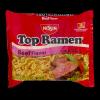 Nissin Top Ramen Beef Flavor, 3 oz