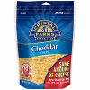 Crystal Farms All Natural Shredded Cheddar Cheese, 8 oz