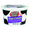 Western Family Sour Cream Grade A Pasteurized Cultured, 16 oz