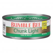 Bumble Bee Chunk Light Tuna in Water, 4 oz