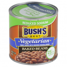 Bush's Reduced Sodium Vegetarian Baked Beans, ...