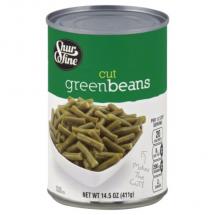 Shurfine Cut Green Beans, 14.5 oz