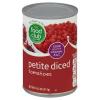 Food Club Petite Diced Tomatoes, 14.5 oz