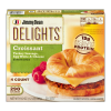 Jimmy Dean Delights Turkey Sausage, Egg White & Cheese Croissant Sandwiches, 19.2 oz, 4 ct