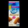 Silk Almondmilk Vanilla Unsweetened, 1/2 gallon