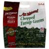Pictsweet All Natural Chopped Turnip Greens, 16 oz