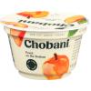 Chobani Non-fat Greek Yogurt Peach, 5.3 oz