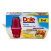Dole Peaches in Strawberry Gel, 4 ct