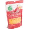 Food Club Finely Shredded Sharp Cheddar Natural Cheese, 8 oz