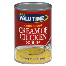 Valu Time Condensed Cream of Chicken Soup, 10.5 oz