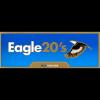 EAGLE 20S BLUE KING BOX CARTON