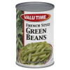 Valu Time French Style Green Beans, 14.5 oz