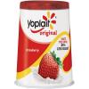 Yoplait Original 99% Fat Free Strawberry Low Fat Yogurt, 6 oz