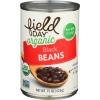 Field Day Organic Black Beans, 15 oz