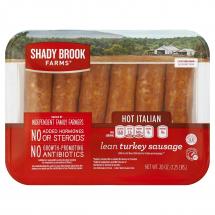 Shady Brook Farms Hot Italian Turkey Sausage, 20 oz