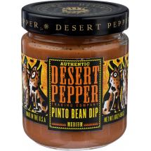 Desert Pepper Medium Pinto Bean Dip, 16 oz