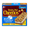 Honey Nut Cheerios Milk'n Cereal Bars, 1.4 oz 6 ct