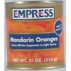 Empress Canned Mandarin Oranges in Light Syrup, 11 oz