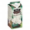 So Delicious Organic Coconut Milk Unsweetened Half Gallon