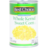 Best Choice Whole Kernel Sweet Corn, 15.25 oz