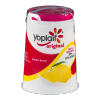 Yoplait Original Low Fat Yogurt Lemon Burst, 6 oz