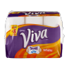 Viva Viva Tough When Wet White Paper Towels, 6 ct