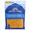 Crystal Farms All Natural Shredded Cheddar Cheese, 8 oz