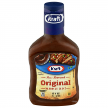 Kraft Slow-Simmered Original Barbecue Sauce, 18 oz