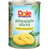 Dole Pineapple Slices In 100% Pineapple Juice, 20.0 oz